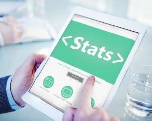 Digital Online Stats Data Analysis Analytics Browsing Concept